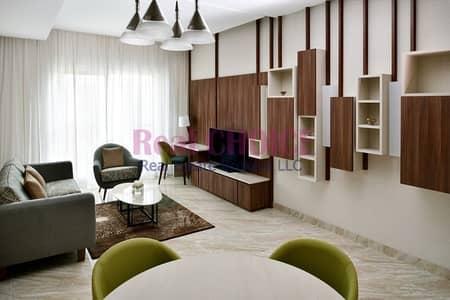 شقة فندقية 2 غرفة نوم للايجار في وسط مدينة دبي، دبي - Furnished And Spacious 1BR Apartment|Vacant Now