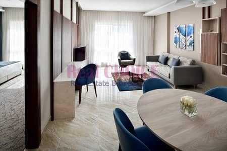 1 Bedroom Hotel Apartment for Rent in Downtown Dubai, Dubai - Bright and Cozy 1BR Apartment|Ready To Move In