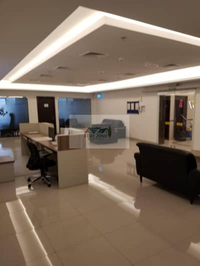 مکتب  للايجار في بر دبي، دبي - BEST 200 SQ FT FURNISHED OFFICE IN OUR BEST BUSINESS CENTER LOCATED AT MAIN LOCATION OF UMM HURAIR 2 CLOSE METRO 22K