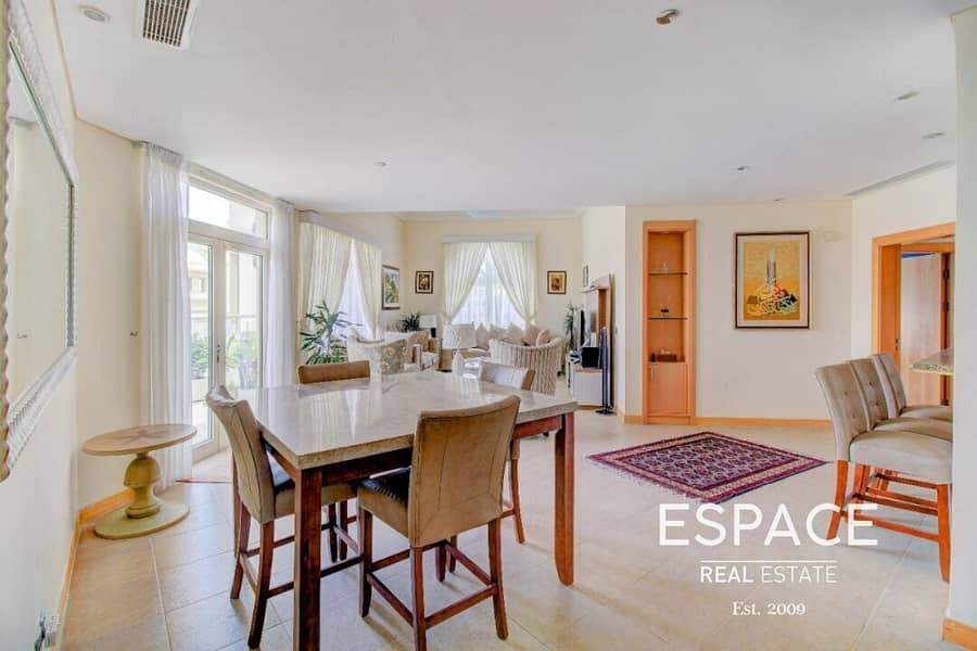 Top Floor - Penthouse Level - Unfurnished - Partial Sea And Park Views