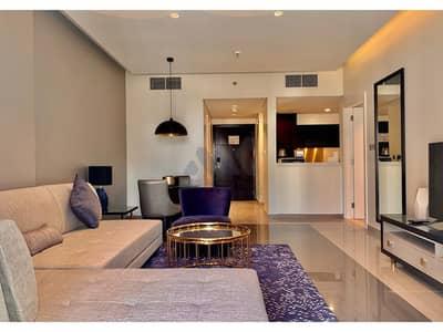 فلیٹ 1 غرفة نوم للايجار في الخليج التجاري، دبي - شقة في داماك ميزون ماجستين الخليج التجاري 1 غرف 63000 درهم - 4650477