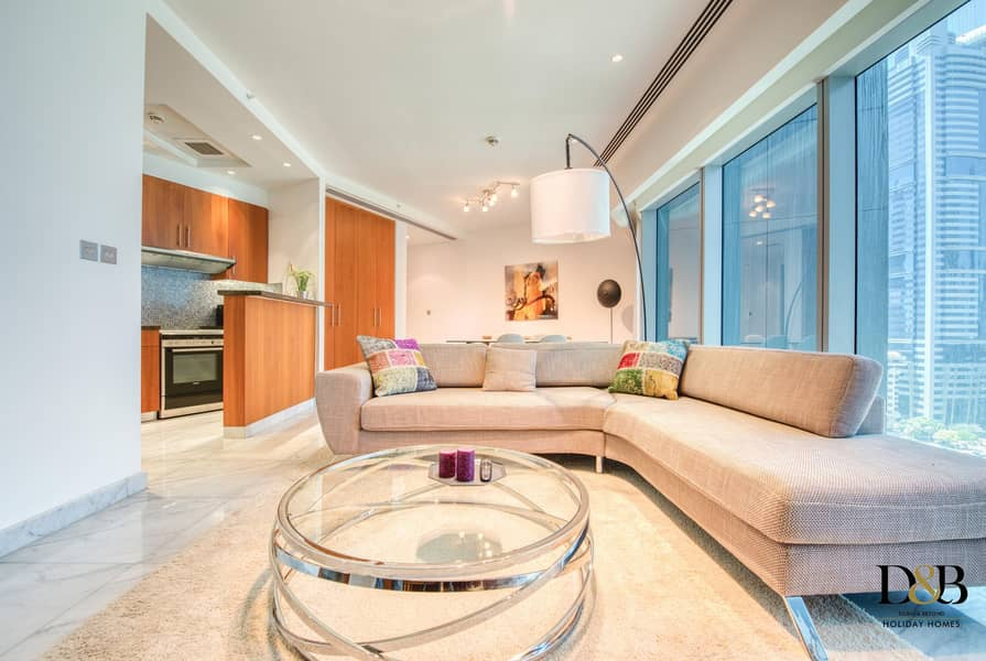 2  newly furnished studio in the heart of DIFC