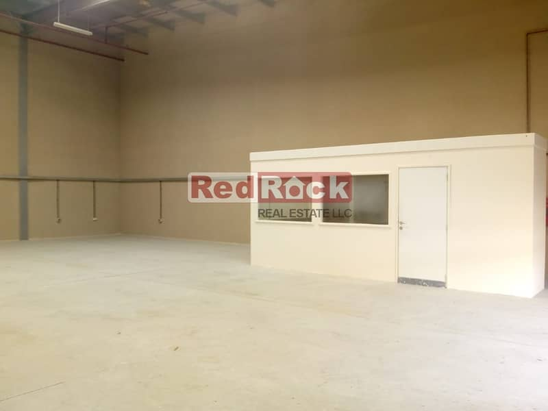 Pay by Credit Card for 2500 Sqft Warehouse with Office in Jebel Ali