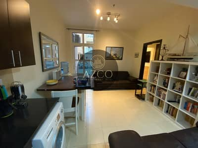 1 Bedroom Apartment for Rent in Jumeirah Village Circle (JVC), Dubai - FULLY FURNISHED 1BHK WITH BALCONY