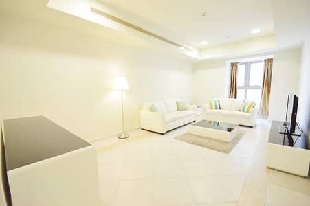 1 Bedroom Flat for Rent in Dubai Marina, Dubai - LARGE SEA VIEW FULLY FURNISHED 1BR IN PRINCESS TOWER DUBAI MARINA!!!!