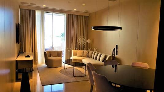 فلیٹ 2 غرفة نوم للايجار في نخلة جميرا، دبي - Sea View | Furnished 2Bed | Beach Access