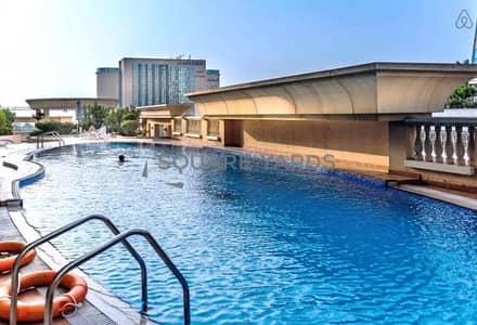 1 Bedroom Apartment for Rent in Dubai Marina, Dubai - 1 Bedroom   partial Sea View with Balcony