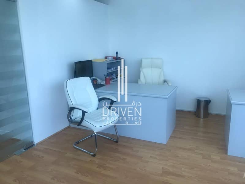 Spacious furnished office   Business Bay