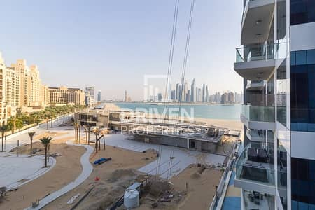 2 Bedroom Apartment for Rent in Palm Jumeirah, Dubai - 2 Bed Apt plus Study Sea and Marina View