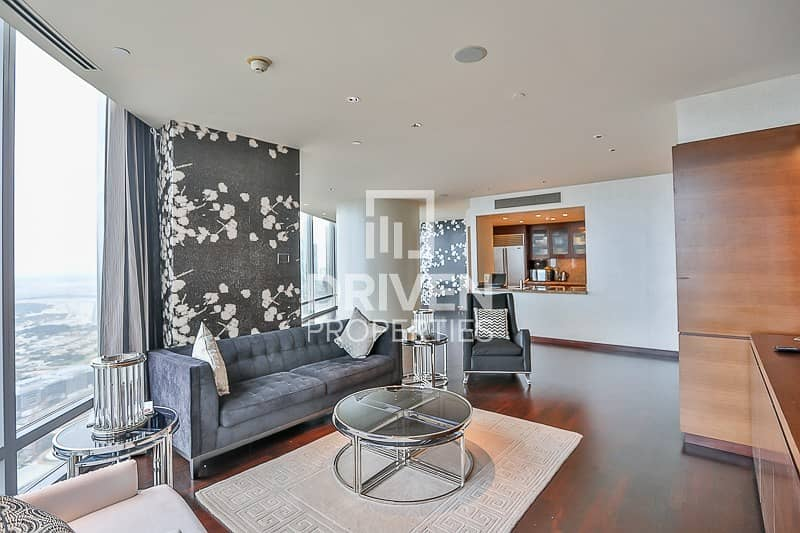3BR Penthouse|Fabulous SEA and DIFC view