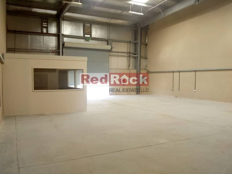 2 60 days Free 5000 sqft Warehouse with Epoxy Flooring & offices in Jebel Ali