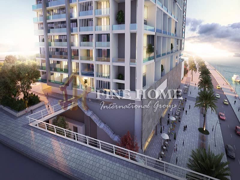 Exclusive Penthouse Furnished With Canal View