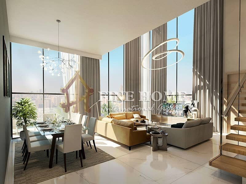 12 Exclusive Penthouse Furnished Great Pool View