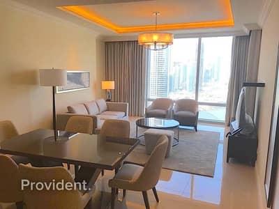 فلیٹ 2 غرفة نوم للبيع في وسط مدينة دبي، دبي - 04 Series | Mid Floor | Full Burj Khalifa View