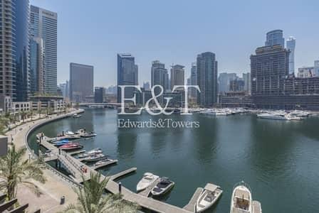 فیلا 3 غرف نوم للبيع في دبي مارينا، دبي - Luxury Upgraded Duplex Podium Villa|Full Marina View
