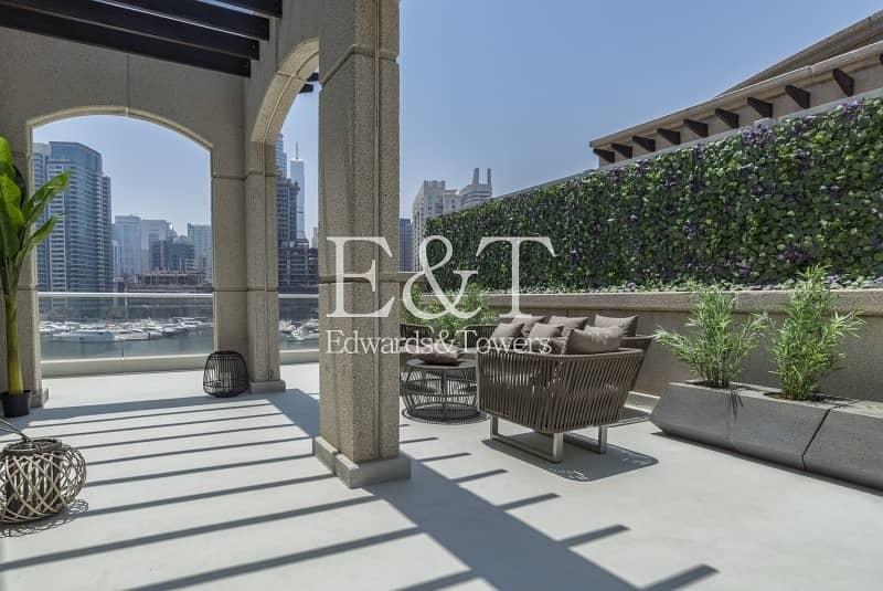 2 Luxury Upgraded Duplex Podium Villa|Full Marina View
