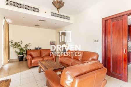 فلیٹ 1 غرفة نوم للبيع في المدينة القديمة، دبي - Fully Furnished 1 Bedroom Apt Plus Study