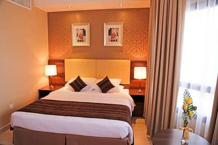 شقة فندقية  للايجار في منطقة النادي السياحي، أبوظبي - شقة فندقية في أبراج أبوظبي التجارية منطقة النادي السياحي 54000 درهم - 4651386