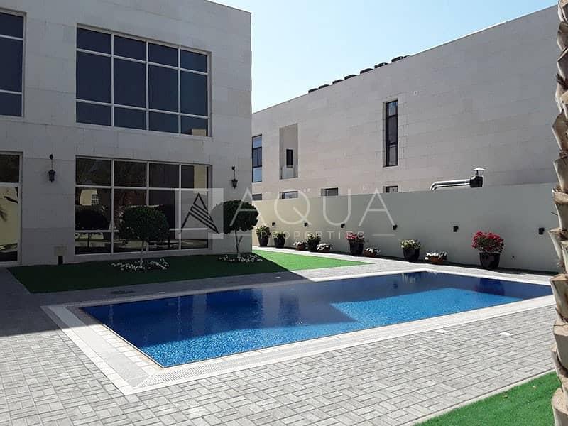10 GCC only | Modern 6BR Villa | Private pool