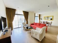 Fully Furnished 2BR + Maids Room | Rooftop Pool