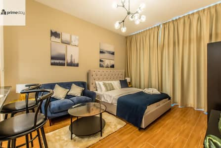 Studio for Rent in Jumeirah Village Triangle (JVT), Dubai - Summer Promo: Sophisticated Newly Furnished Studio in JVT