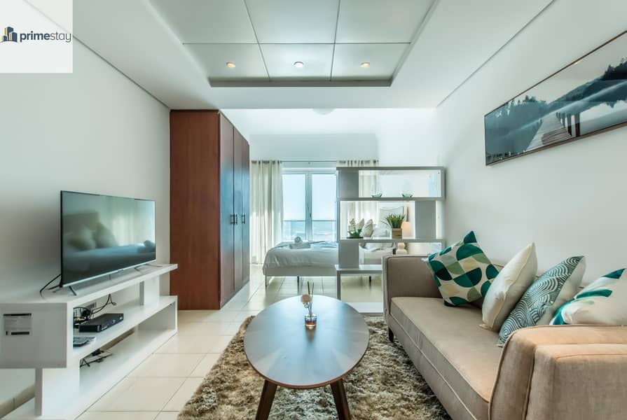 BEST OFFER - High Rise Studio - Fully Furnished  - ALL BILLS INCLUDED