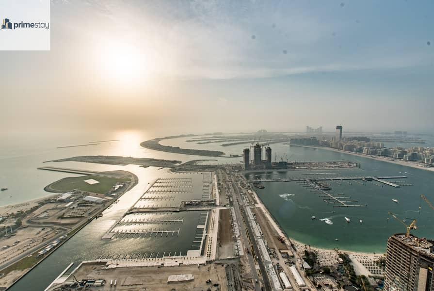Summer Offer: Breath-taking Views 3BR Duplex in Dubai Marina