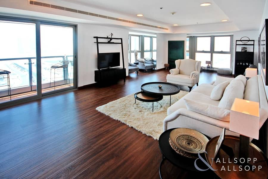 Furnished | 3 Bed | Sea View | 4 Balconies