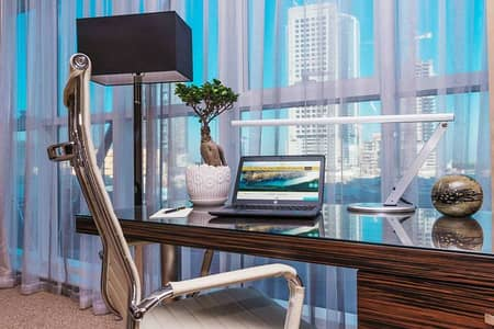 1 Bedroom Apartment for Rent in Tourist Club Area (TCA), Abu Dhabi - Work Desk