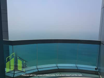 2 Bedroom Flat for Rent in Corniche Ajman, Ajman - Luxurious Spacious 2 BR in Corniche Towers with free parking and sea view