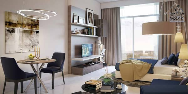 Luxury golf-facing apartments from AED 449