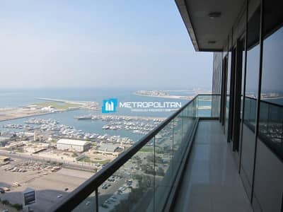 2 Bedroom Flat for Sale in Dubai Marina, Dubai - Sea View Apartment For Sale at Ocean Heights