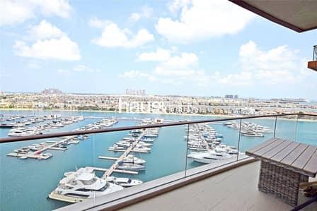 فلیٹ 3 غرف نوم للايجار في نخلة جميرا، دبي - Full Atlantis View | Price Negotiable | High Floor