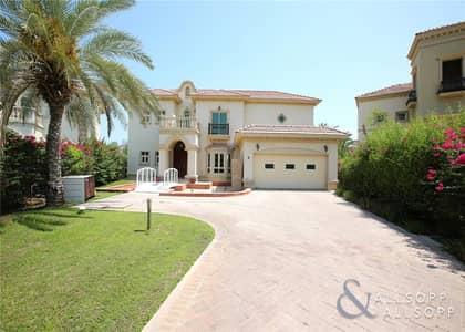 فیلا 4 غرف نوم للايجار في جزر جميرا، دبي - Open Plan Living | Lake View | 4 Bedrooms