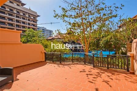 فلیٹ 1 غرفة نوم للايجار في نخلة جميرا، دبي - Available Now   Lagoon View   x6 Cheques   Beach