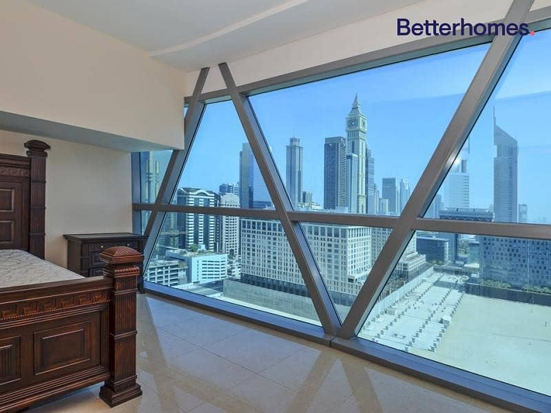 2 Furnished | Spacious | Balcony | DIFC View