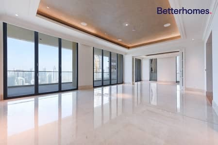 4 Bedroom Penthouse for Rent in Downtown Dubai, Dubai - Highest floor penthouse | Available Now