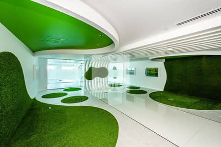 Office for Rent in Dubai Media City, Dubai - Fitted Units | Mid Floor | AC Incl | DED
