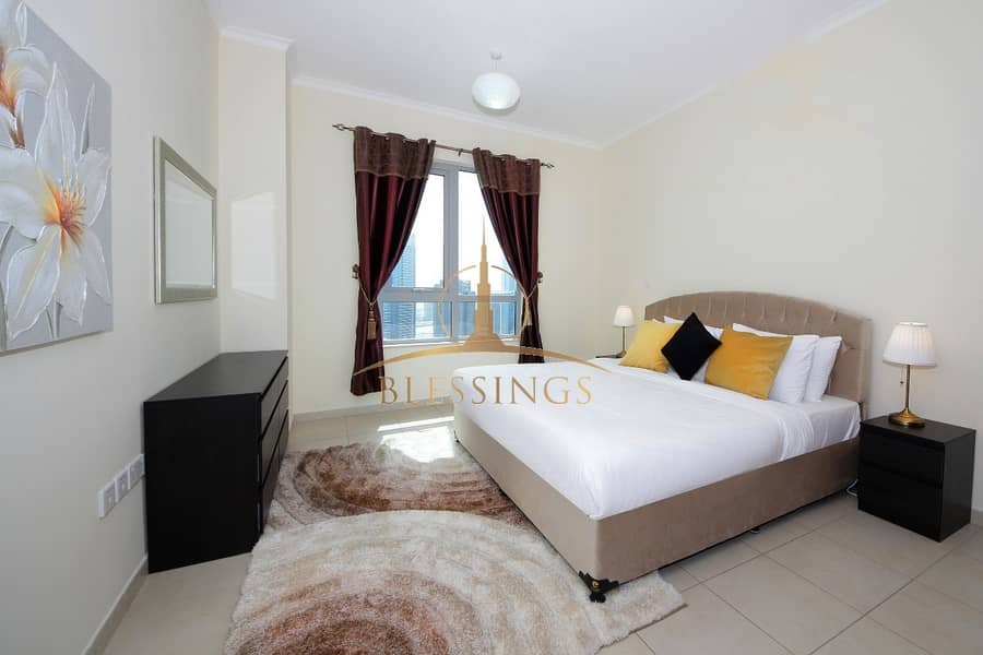 2 FULLY FURNISHED| BOULEVARD VIEW | HIGH FLOOR