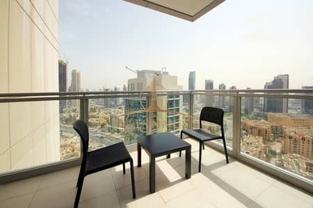 2 Bedroom Flat for Sale in Downtown Dubai, Dubai - FULLY FURNISHED| BOULEVARD VIEW | HIGH FLOOR