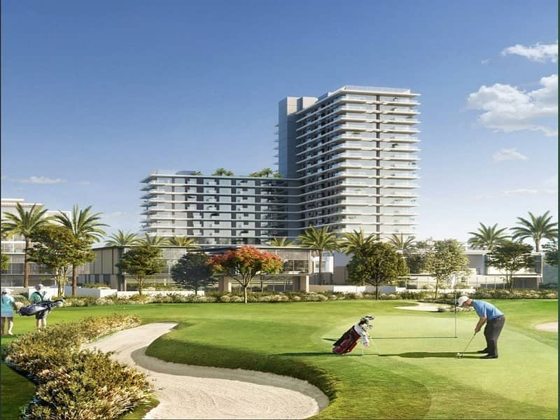 Apartment With Golf And Park Views | Infinity Pool