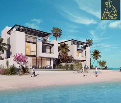 7 Bedroom Villa for Sale in Sharjah Waterfront City, Sharjah - Amazing 7BR Villa in Waterfront City Prime Location Beach Views