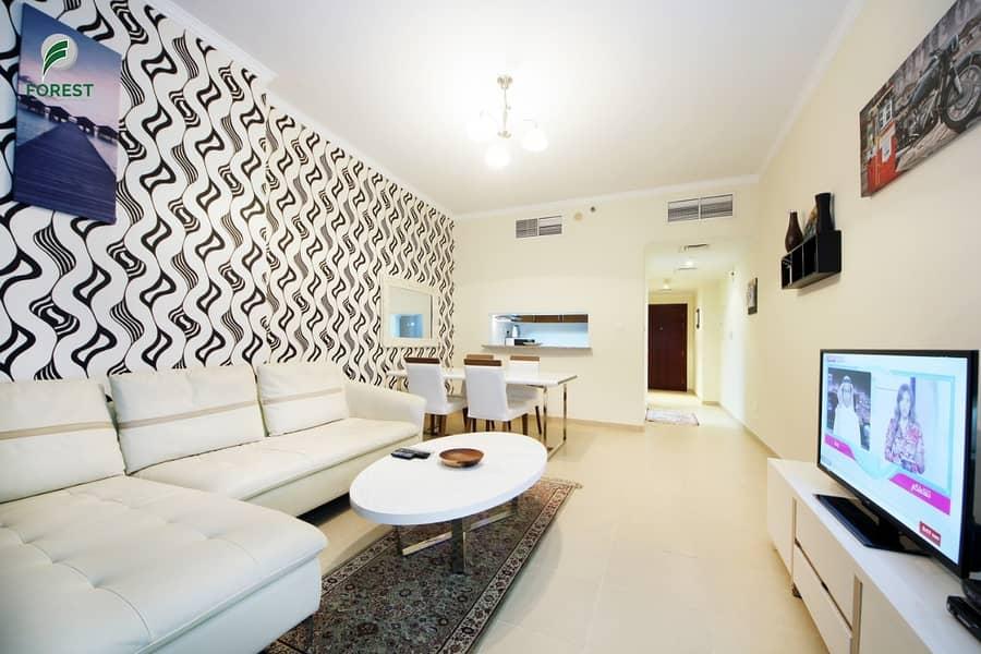16 Luxury 1 BR Duplex Chiller free close to metro