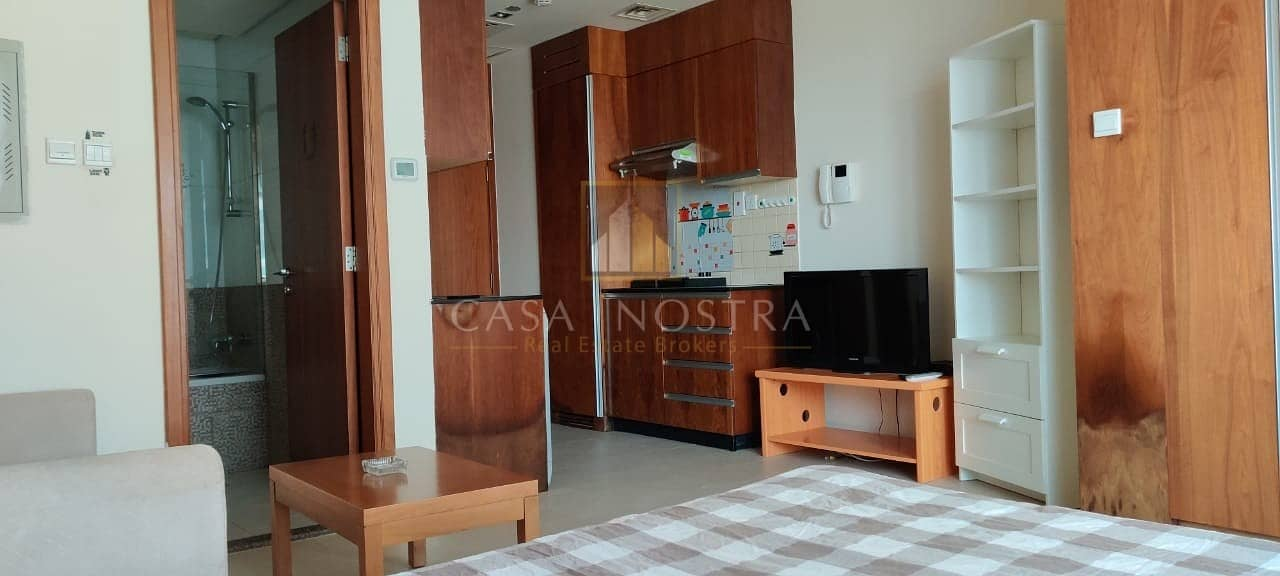 2 Ready to move Furnished Studio with Balcony