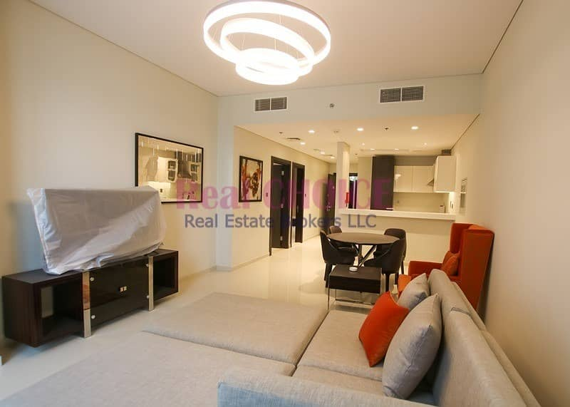 2 Spacious Furnished 1BR Apartment|With Pool  View