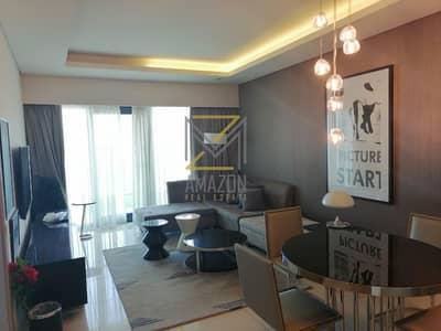 شقة فندقية 1 غرفة نوم للايجار في الخليج التجاري، دبي - Hotel apartment with Luxurious Furniture
