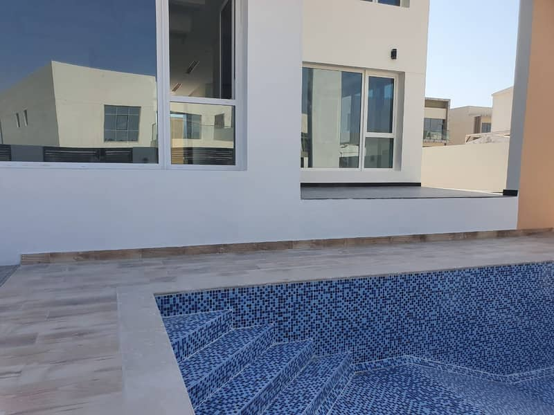 11 Brand New Spacious Modern 5 BR Villa With Maid and Pool