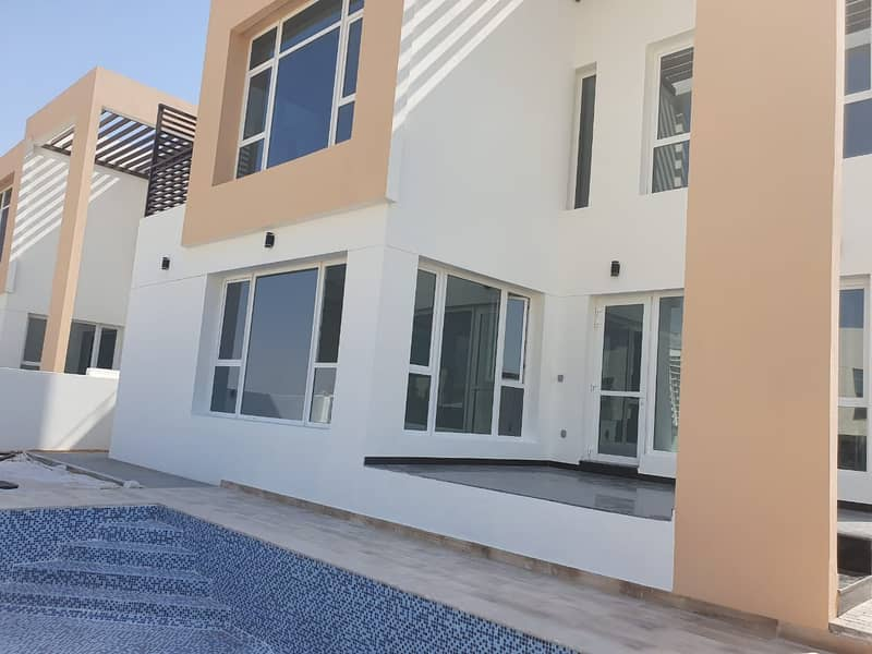 2 Brand New Spacious Modern 5 BR Villa With Maid and Pool