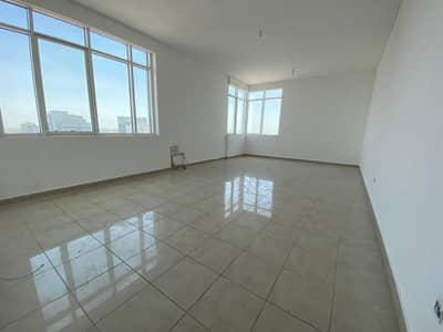 3 Bedroom Apartment for Rent in Airport Street, Abu Dhabi - Tower Building Spacious 3 Bedrooms available in Airport Road Near Fatima Market