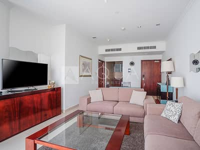 1 Bedroom Flat for Rent in Jumeirah Lake Towers (JLT), Dubai - Fully Furnished 1 BR Goldcrest Executive